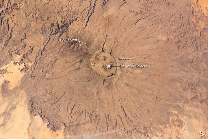 Emi Koussi Volcano, Chad