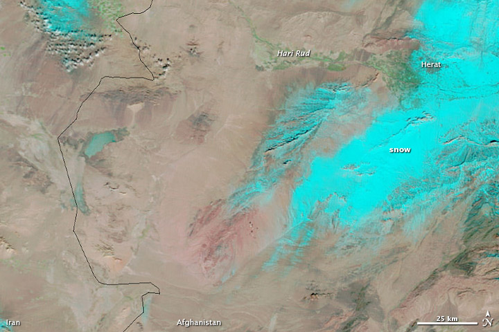 Flooding in Western Afghanistan
