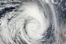 Tropical Cyclone Diane - selected image