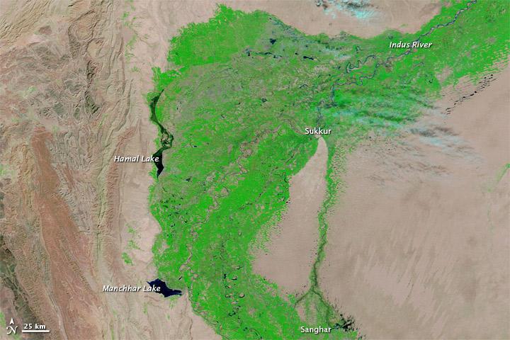 Flood Waters Linger in Pakistan