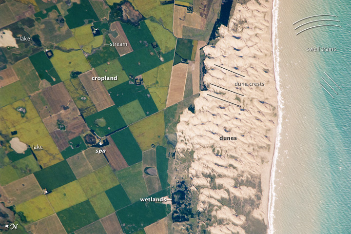 Médano Blanco Coastal Dunes, Argentina - related image preview
