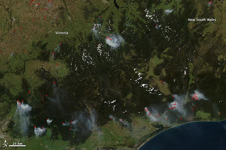 Fires in Southeastern Australia