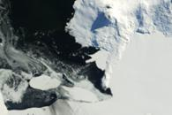 Sea Ice in McMurdo Sound, Antarctica