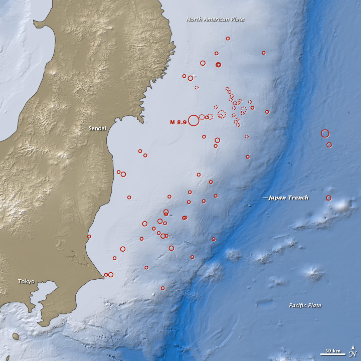 Earthquake and Tsunami near Sendai, Japan - related image preview