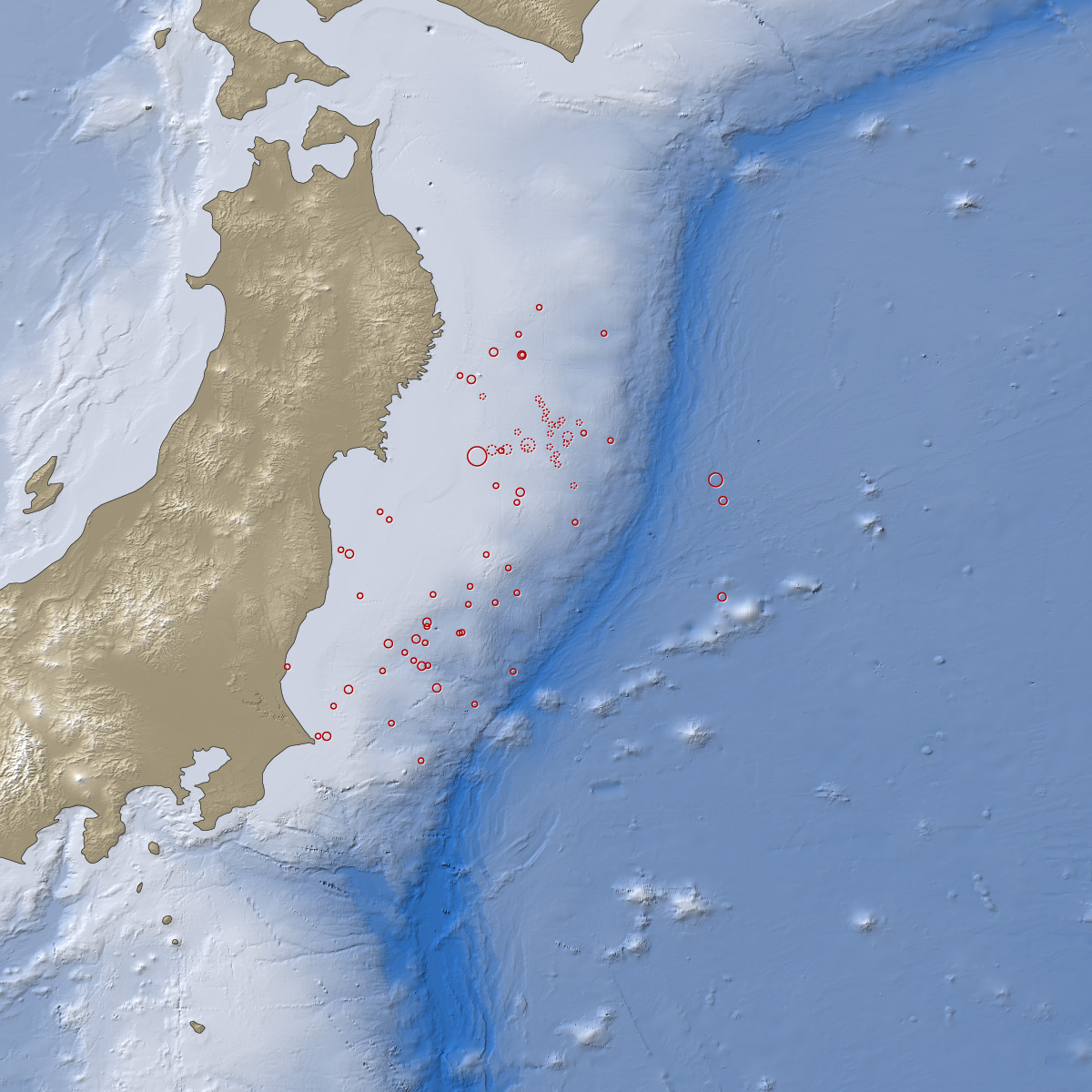 Earthquake And Tsunami Near Sendai Japan Image Of The Day - Japan map latitude and longitude