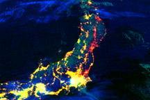 Electricity Losses in Northeastern Japan
