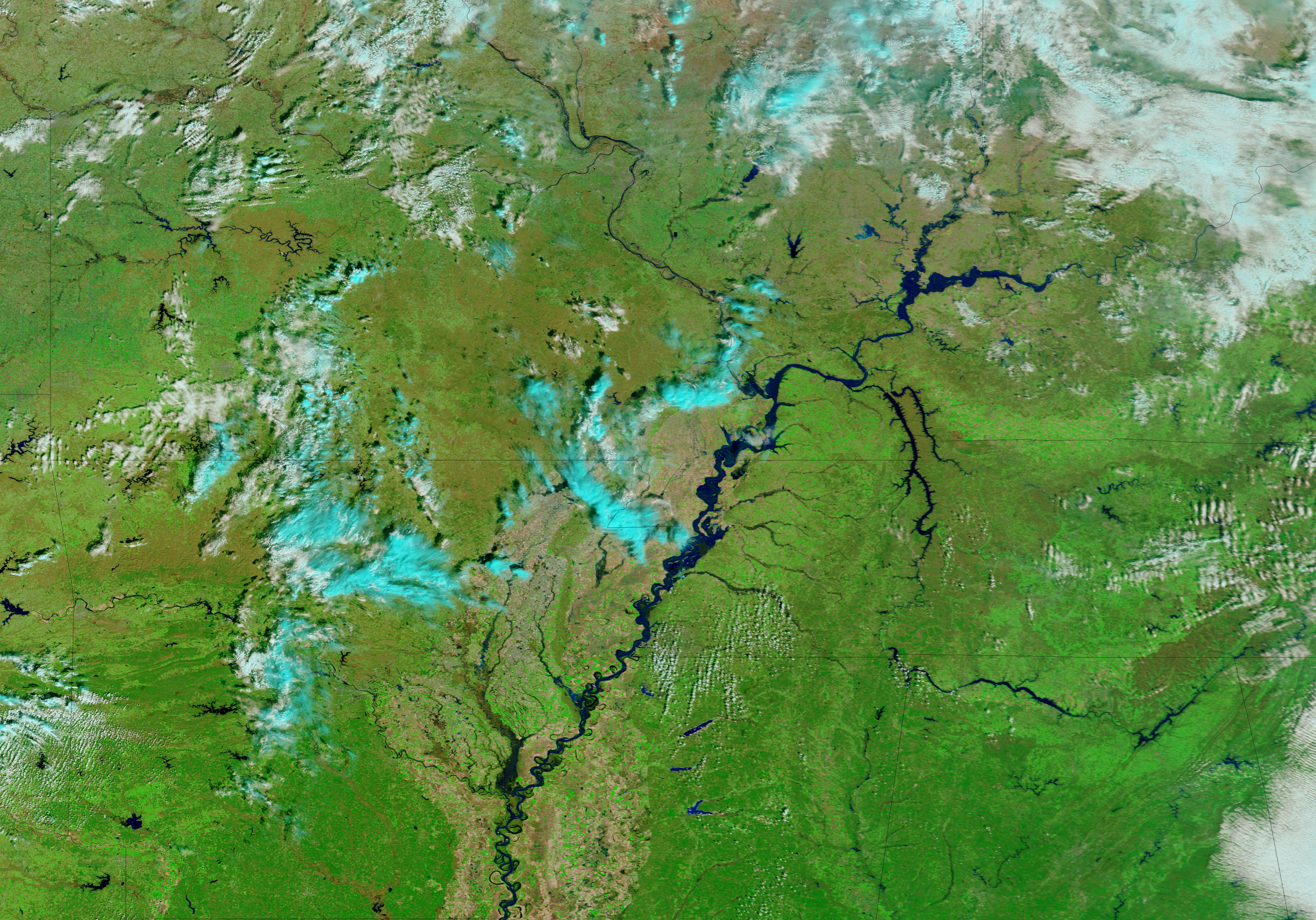 Rising Waters on the Mississippi River  Natural Hazards