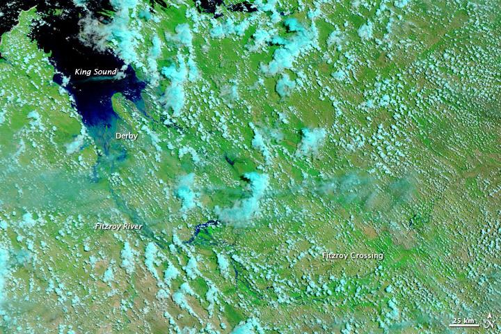 Flooding in Western Australia
