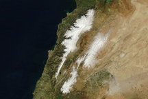 Snow in Lebanon