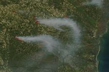 Fires in Georgia