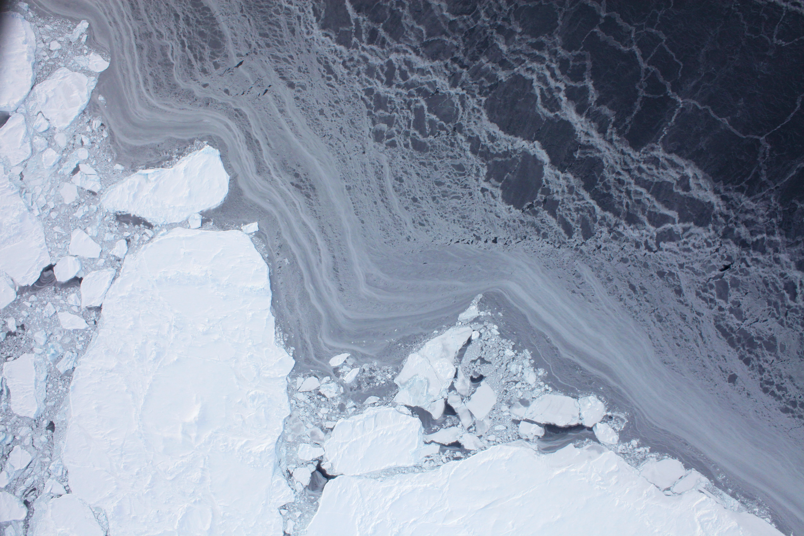 Flying over Arctic Sea Ice - related image preview