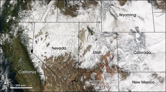 Major Snowstorm in the U.S. West