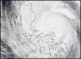 Typhoon Nanmadol strikes the Philippines
