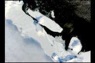 B-15A Iceberg Blocks McMurdo Sound