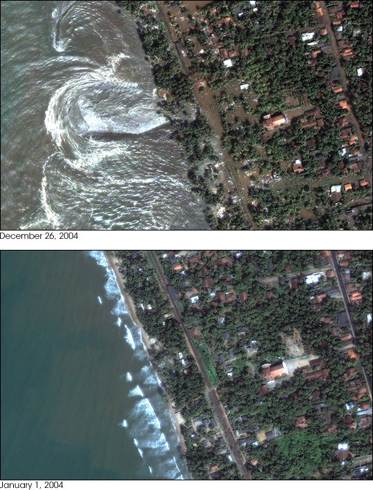 Tsunami Strikes Sri Lanka