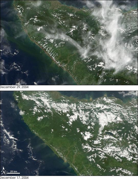 Tsunami Damage in Northwest Sumatra