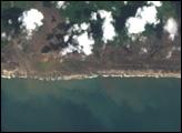 Tsunami damage in Aceh Province, Sumatra