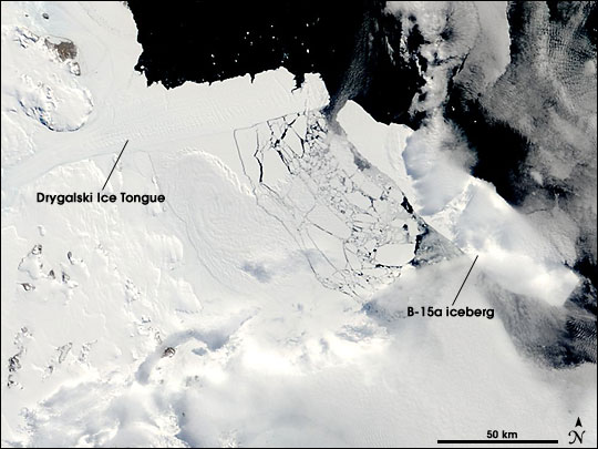 Breaking Sea Ice in McMurdo Sound