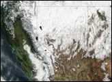 Winter Storms Lash the Western United States