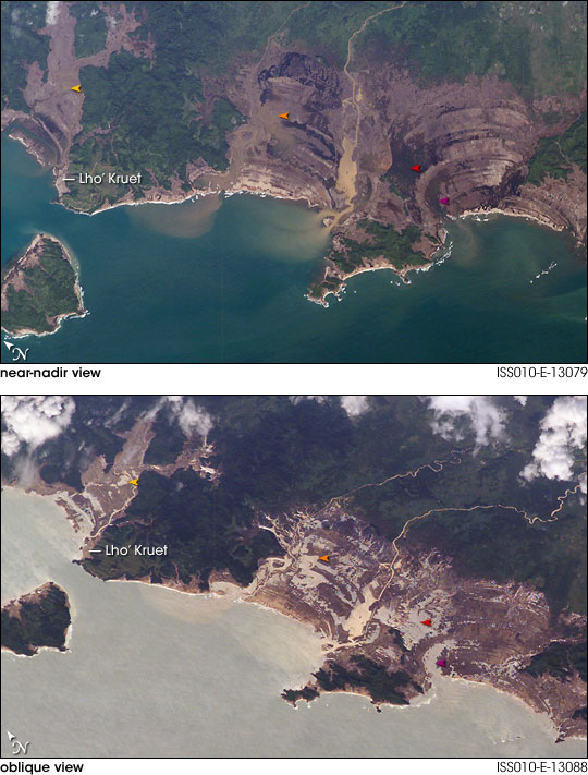Tsunami Damage, Northwestern Sumatra
