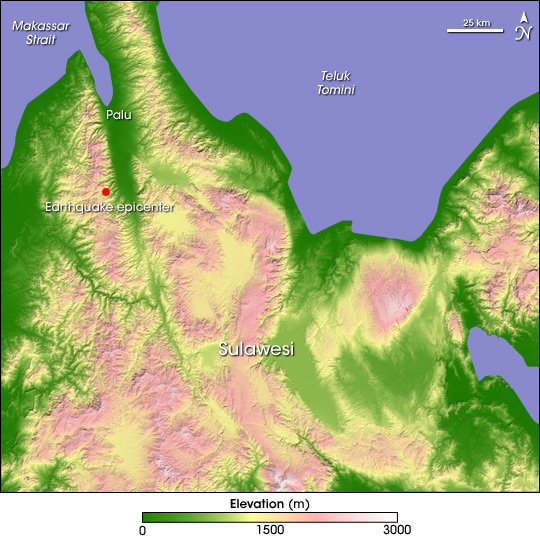 Earthquake in Sulawesi