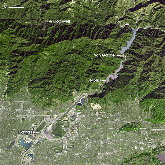 San Gabriel River Flood Control
