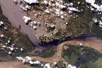 Solimões-Negro River Confluence at Manaus, Amazonia - related image preview