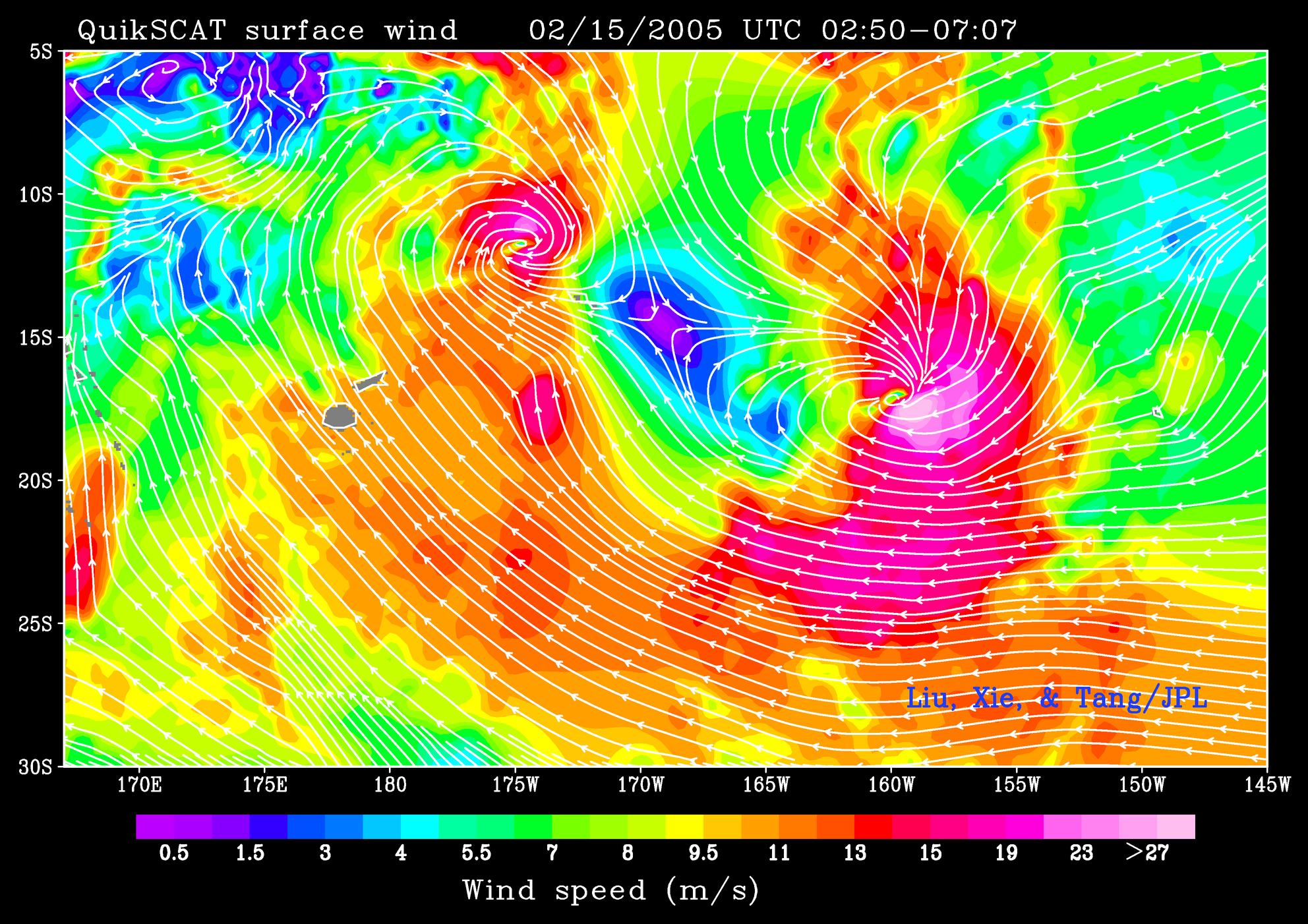 Tropical Cyclones Olaf and Nancy - related image preview