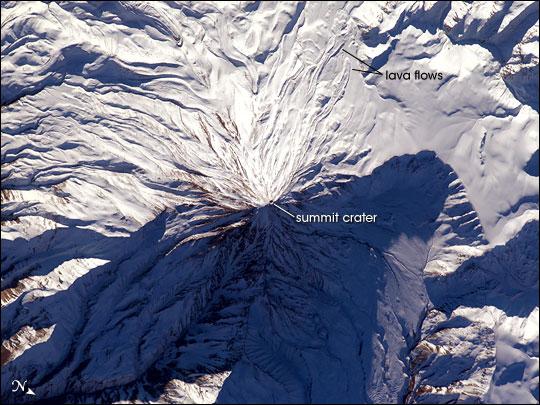 Mt. Damavand, Iran