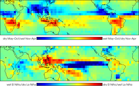 Global Rainfall Patterns