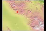 Earthquake Near Zarand, Iran