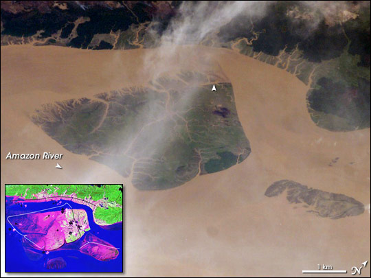 Coastal Change, Amazon River Mouth - related image preview