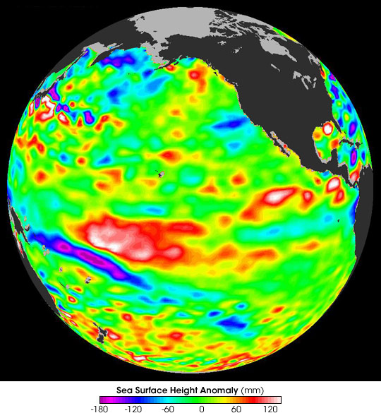A Weak El Niño Getting Weaker