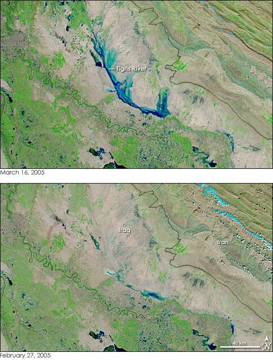 Floods in Iraq