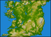 Topography of Ireland