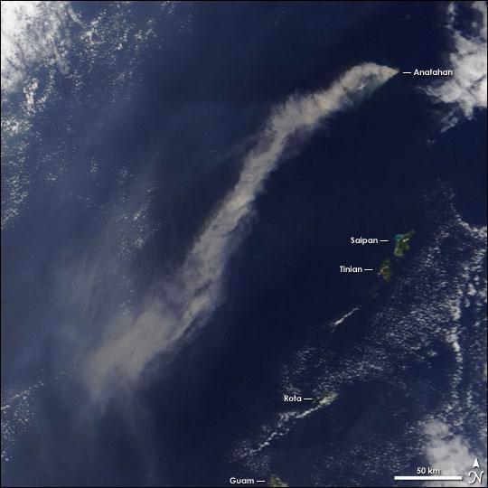 Eruption of Anatahan
