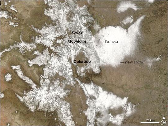 Surprise Snow in Colorado
