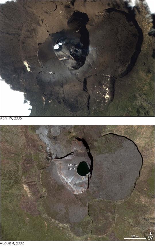 Karthala Volcano, Comoros