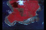 Tectonic Uplift near Sumatra