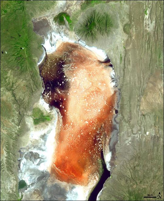 Lake Natron, Tanzania