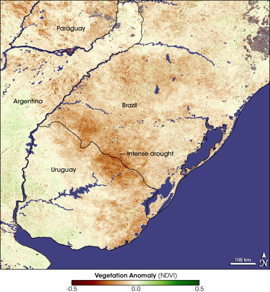 Drought in Brazil