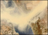 Dust Sweeps over the Red Sea