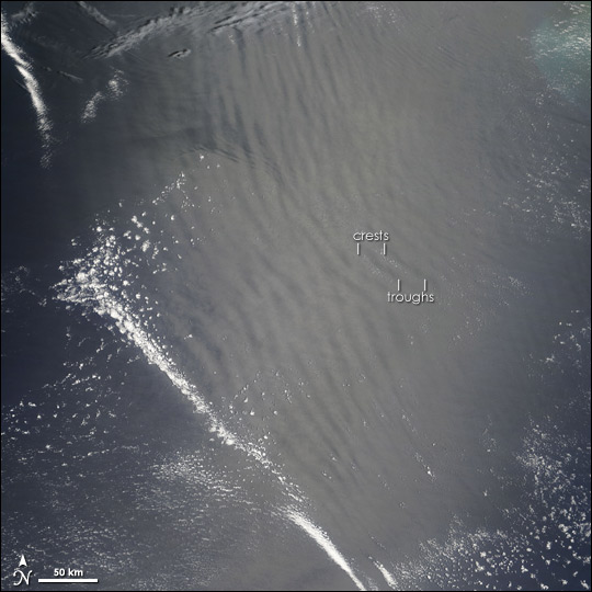 Atmospheric Gravity Waves over Arabian Sea