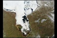 Thawing Ice on Hudson Bay