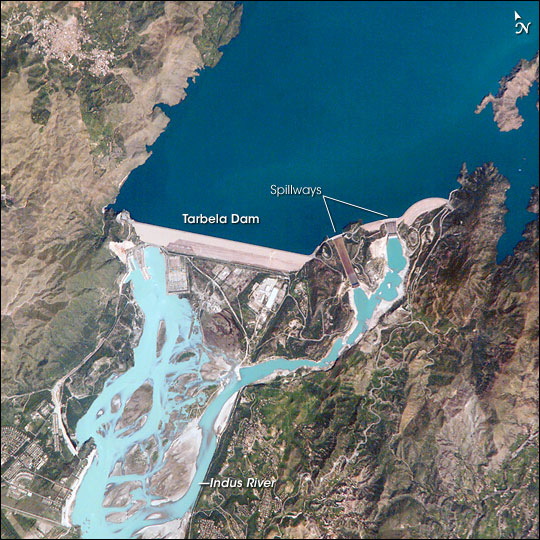 Tarbela Dam, Pakistan
