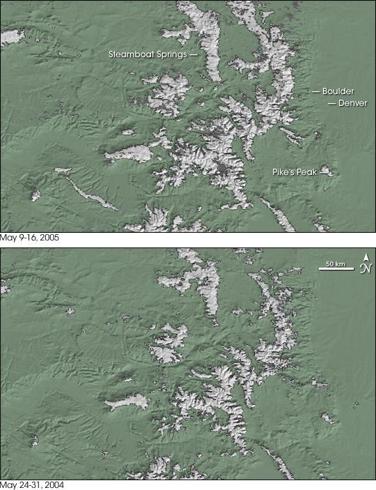 Colorado Snow Extent