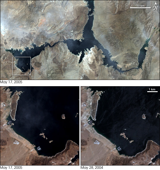 Subtle Signs of Recovery in Lake Mead