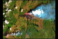 Fires in Northern Quebec