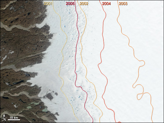 Greenland Melt Zones