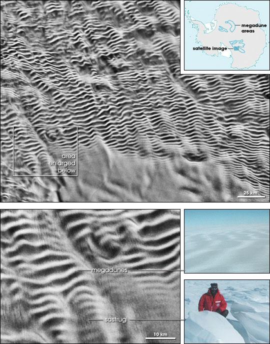 Antarctic Megadunes